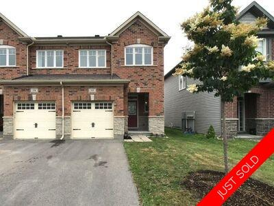 117 Westphalian Ave, Blackstone, Kanata, Ottawa, 2-storey, row unit for rent: 3 bedroom